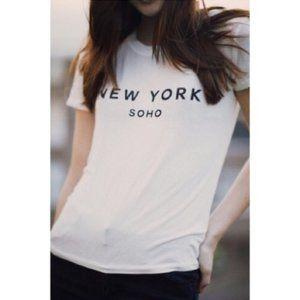 Brandy Melville New York Soho T Shirt
